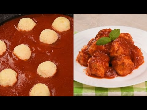 Ricotta balls with tomato sauce you must try this vegetarian recipe