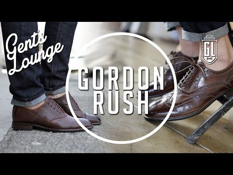 Oxfords or Brogues? (Ft. Gordon Rush) || Gent's Lounge