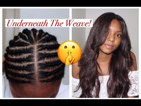 Sew in Braid Pattern for Beginners