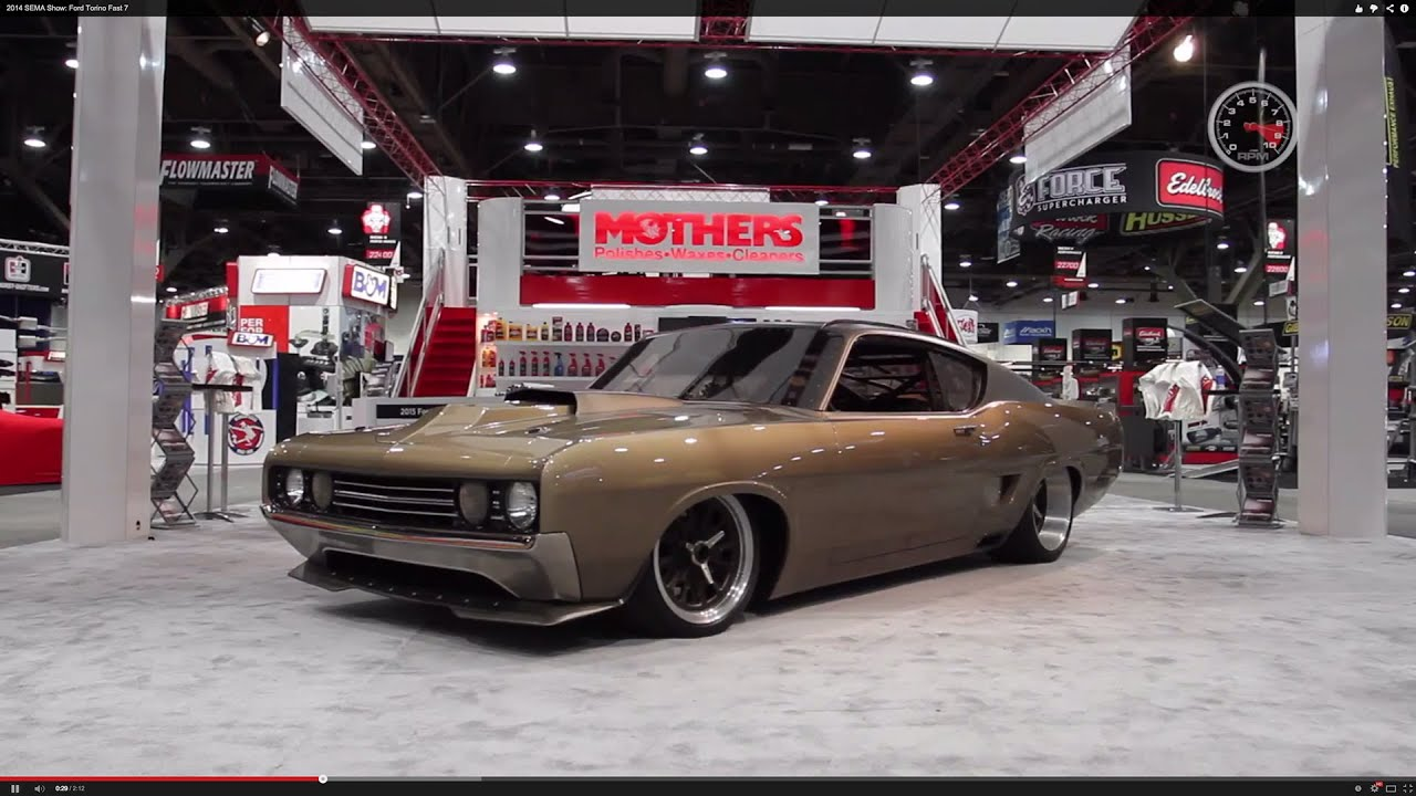 Muscle Car Photos Wallpaper 2014 Sema Show Ford Torino Fast 7 Youtube