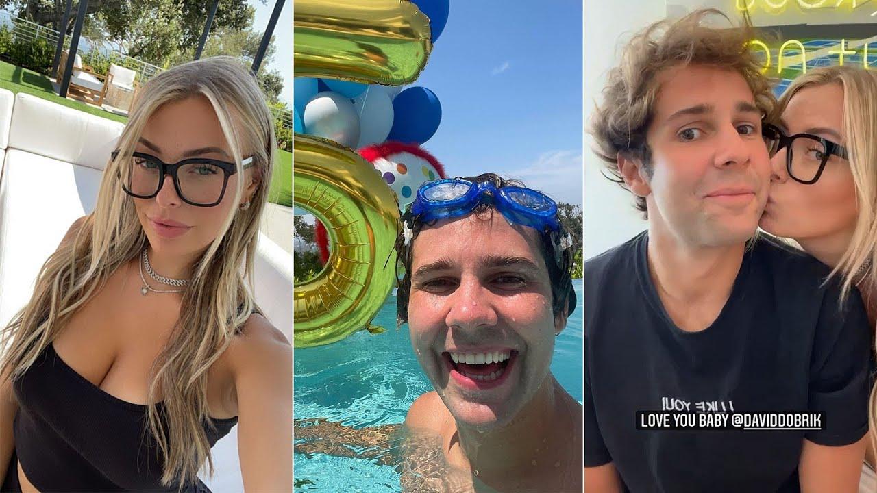 David Dobrik's Insane 25th Birthday Weekend with the Vlog Squad - Instagram Stories 92