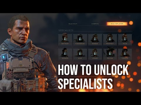 Call of Duty Black Ops 4 - Blackout Character Unlock Guide Week 1