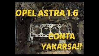 Opel Astra G Kasa Conta Yakarsa !!!