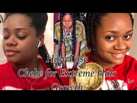 Chebe Powder Better Then Rice Water 🤔 | Extreme Hair Growth Using Chebe Powder