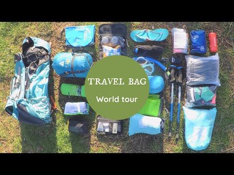 [ TUTO ] Le contenu de mon sac à dos Tour du Monde!