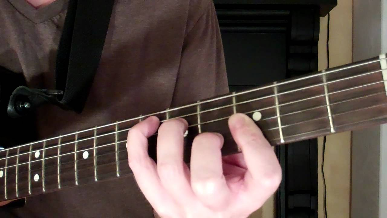 How To Play The Eb Chord On Guitar E Flat Major Youtube