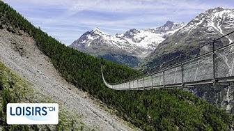 Le pont de la Randa - Le pont suspendu le plus long du monde