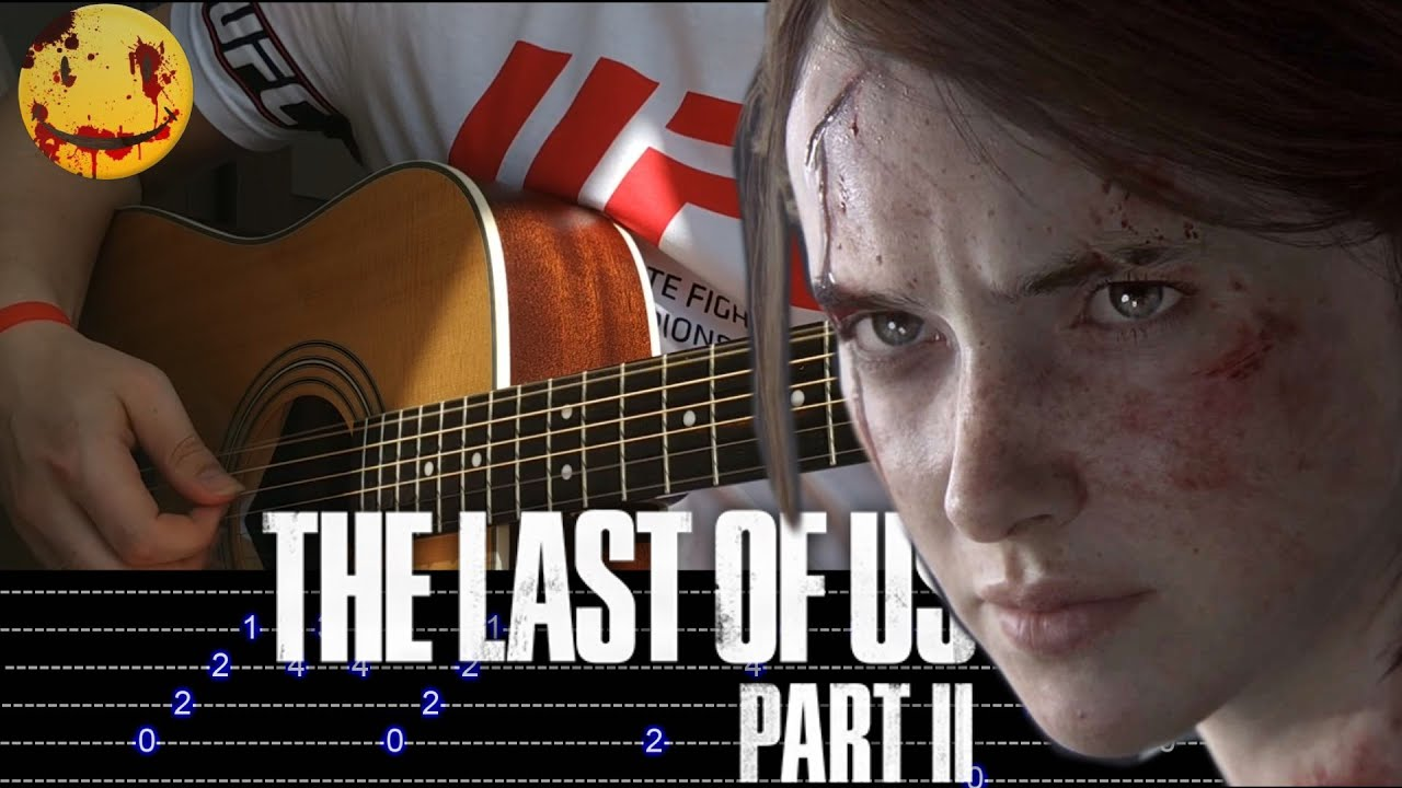How to play The Last of Us 2-MAIN THEME Fingerstyle Guitar+TAB