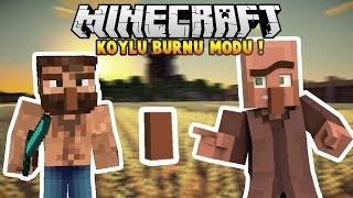 Minecraft Köylü Burnu Modu [EN KOMİK MOD] | Minecraft Mod Tanıtımları #16
