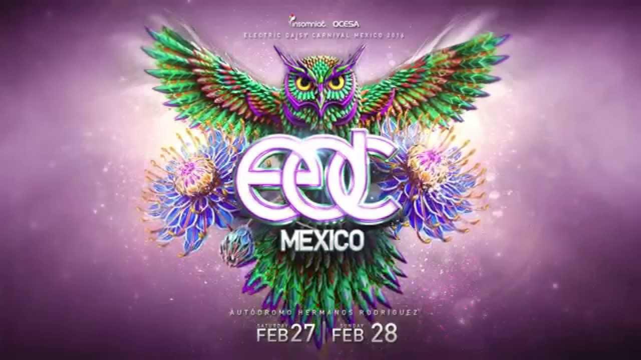 EDC Mexico 2016 Announcement Trailer - YouTube