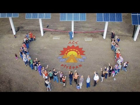 SOLAR IN THE TAR SANDS: Indigenous community launches solar powered health centre