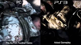 Battlefield 3: Faultline gameplay PC vs PS3 comparison