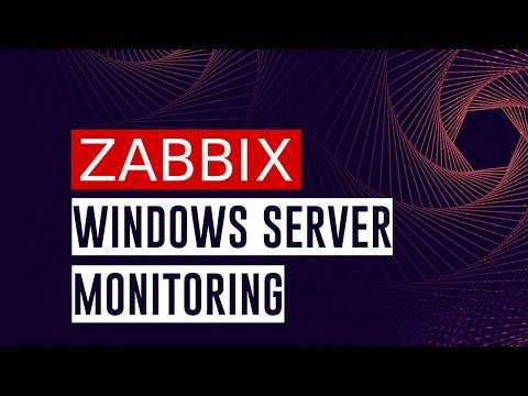 Windows Server monitoring with Zabbix - by Zabbix Cookbook