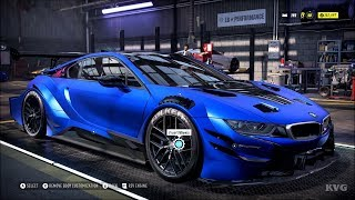 Need for Speed Heat - BMW i8 Coupe 2018 - Customize | Tuning Car (PC HD) [1080p60FPS]