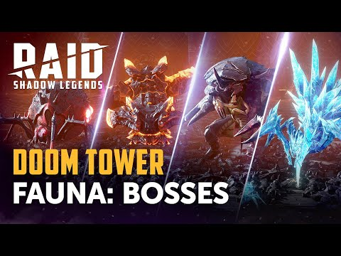 Raid: Shadow Legends | Doom Tower Preview: Bosses
