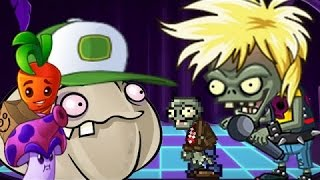 Plants Vs Zombies 2 Neon Mixtape Tour Zomboss: Multi-stage Masher