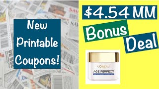 NEW Printable Coupons 1/12/20 + $4.53 MM Deal!
