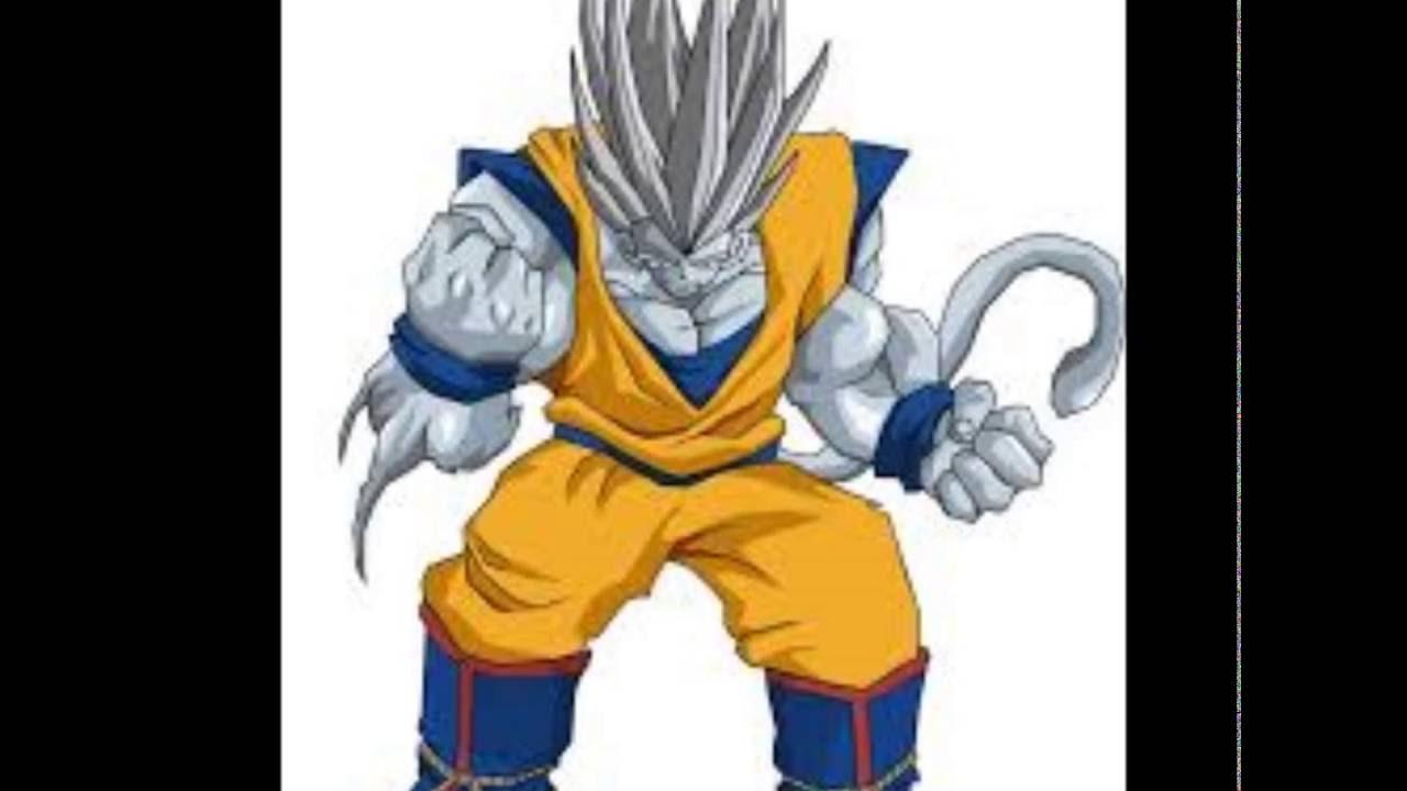 Imagenes De Fases De Goku: Todas Las Fases De Goku Y Vegeta De La 1 Hasta La 10