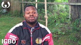 WIKITONGUES Valentine speaking Igbo