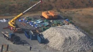 Raw: Japan Resumes Work To Move US Base