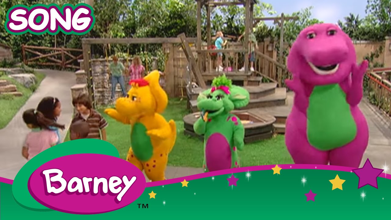 Barney A Family Is Love Song Youtube