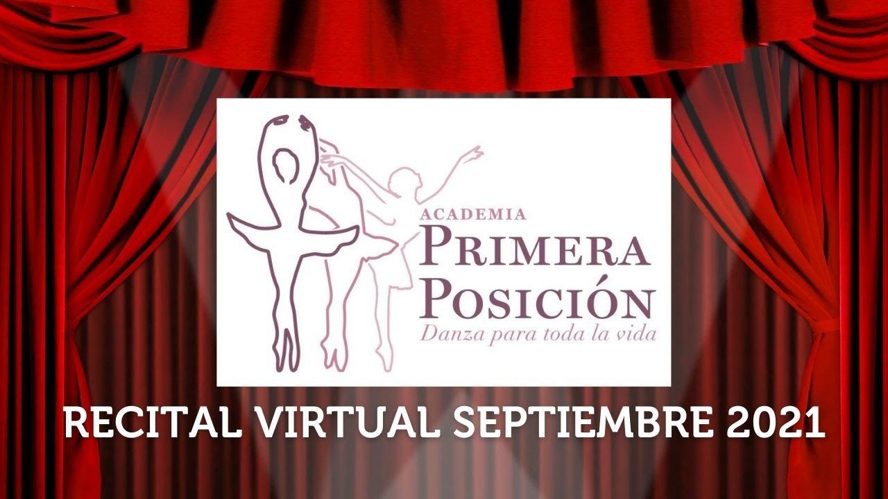 Primer recital virtual. Septiembre 2021