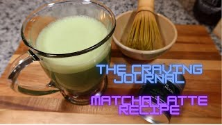 MATCHA Latte Recipe  ASMR Cooking Sounds  Relaxing Cooking Video  Soothing