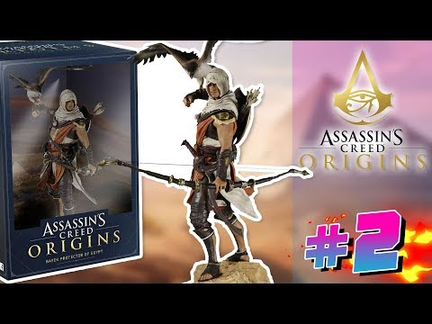UNBOXING! DANSK Assassin's Creed Origins Let's Play med Jørgen og Nathalie #2