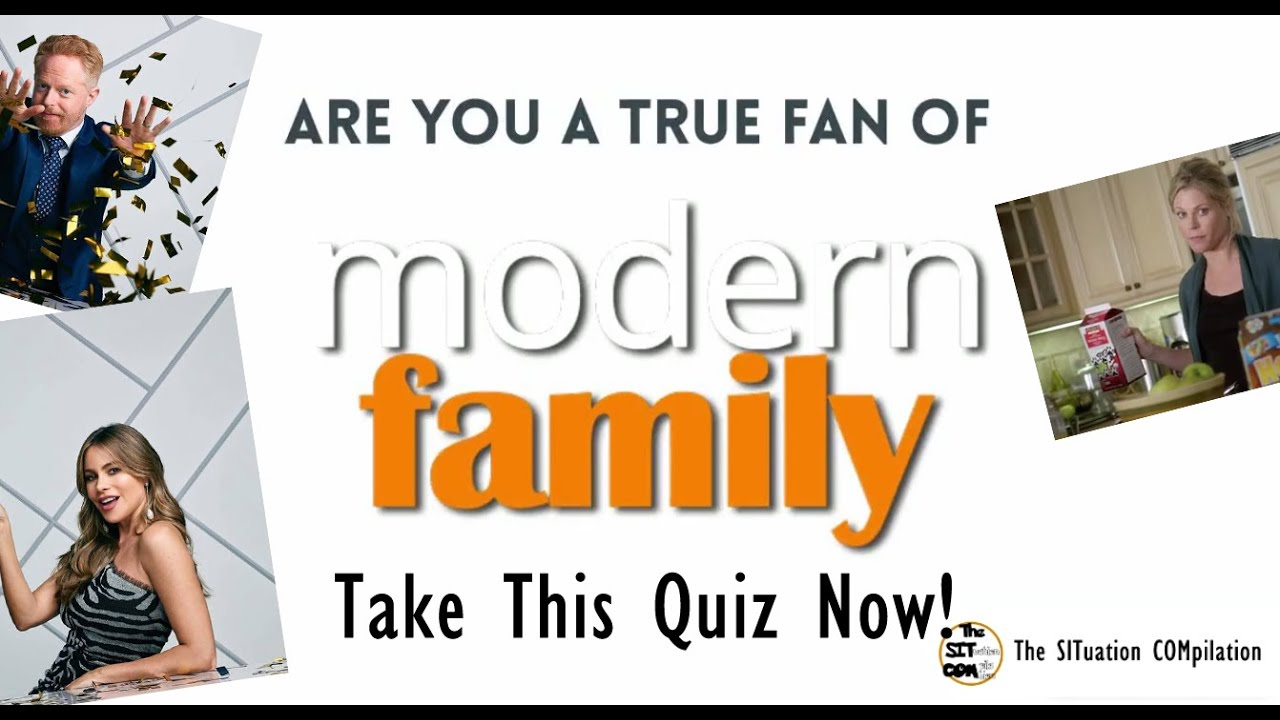 SITCOM Quiz - 10 Fun facts about Modern Family