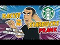 Racist Starbucks Prank (Arab Voice) - Ownage Pranks