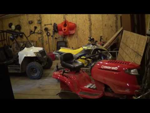 Garage new solar, Mower, tires summer plans