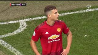 Diogo Dalot Debut vs Stoke City U23 (H) 31/08/2018