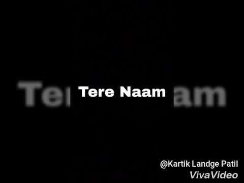 Tere Naam | Sad Version | Unplugged | By Aditya Tiwari . Use Headphones please .