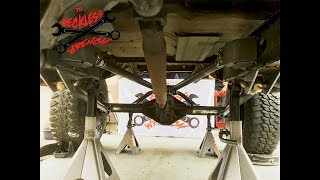 Rear 4 Link Suspension on the Suburban - Reckless Wrench Garage