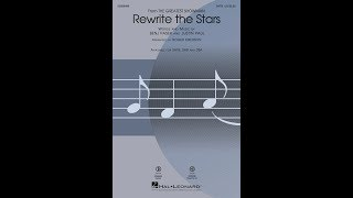 Rewrite the Stars (from The Greatest Showman) (SATB) - Arranged by Roger Emerson