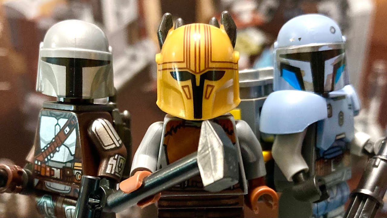 LEGO Star Wars 2021 Mandalorian Forge Review! 75319