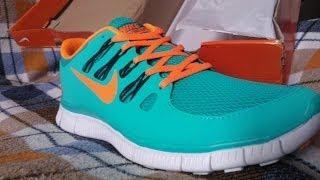 Розпакування посилки. Nike Free Run 5.0 СУПЕР!!!