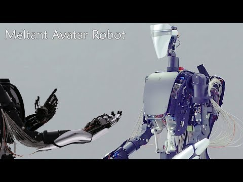 """meltant α"", An Avatar Robot With The World's Most Powerful And Flexible Robotic Hand ."
