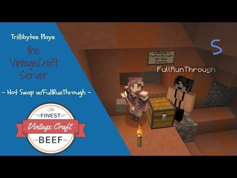 Hot Swap Challenge w/FullRunThrough - Trillibytes Plays - VintageCraft Server (Minecraft) - Ep. 5