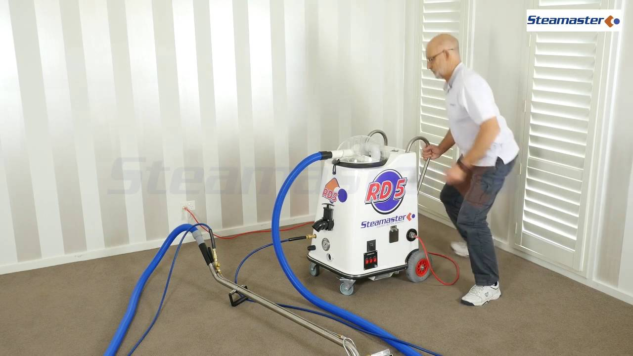 Steamaster Rd5 Carpet Cleaning Machine Youtube
