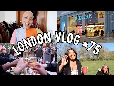 Lockdown has FINALLY lifted + outdoor dining, shopping & reuniting with friends! // London Vlog #75