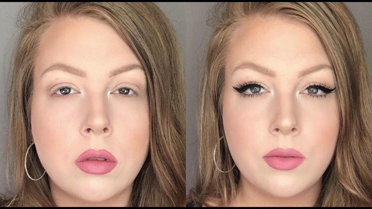 Eye makeup for hooded lids