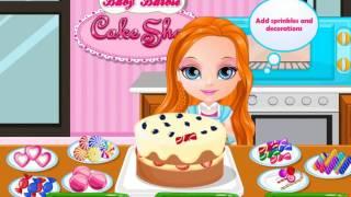 Игра про барби и готовку торта Игра для маленьких девочек про кухню ОНЛАЙН-Игра ДЛЯ ДЕВОЧЕК