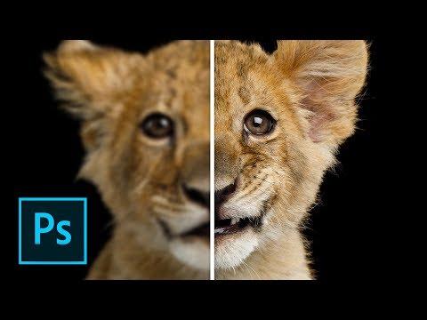 Come Aumentare La Nitidezza Delle Tue FOTO In Photoshop CC