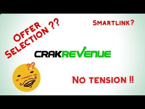 Crakrevenue Offer Selection Trick | CPA Marketing | Bangla Tutorial 2019 thumbnail