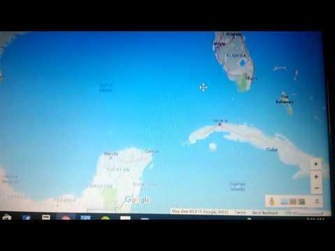 Florida's twisted coast line, Mandela effect