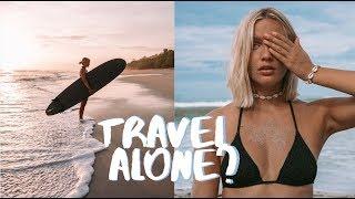 MY FEMALE SOLO TRIP TO COSTA RICA, SANTA TERESA! VLOG (35)