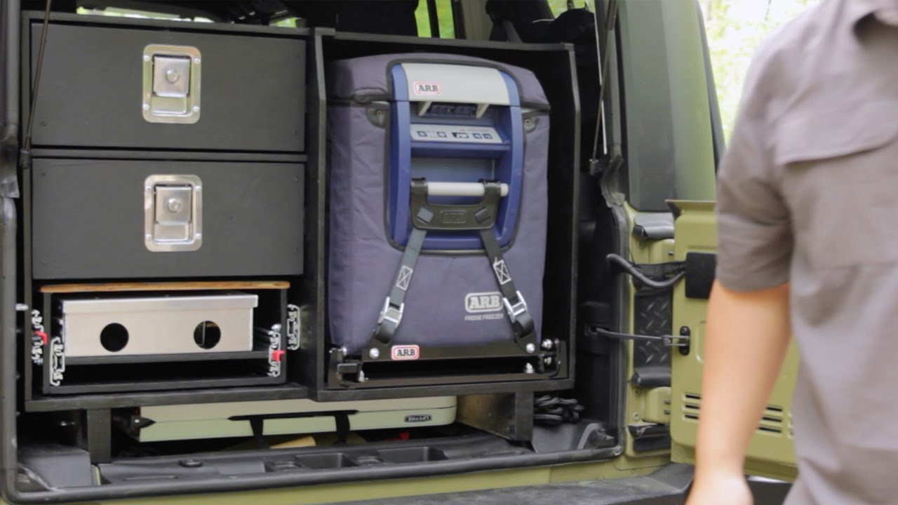 Diy Jeep Drawer System For Overland Camping And Off