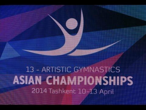 Asian championships 13-artistic gymnastics 2014 Tashkent (Extraordinary students)