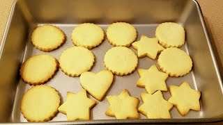 Butter Cookies Recipe - Liberian Style